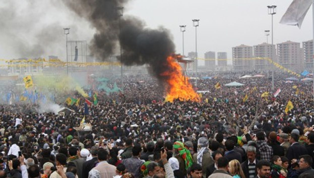 A recent gathering in Diyarbakır, southeastern Turkey's largest city and a Kurdish stronghold.