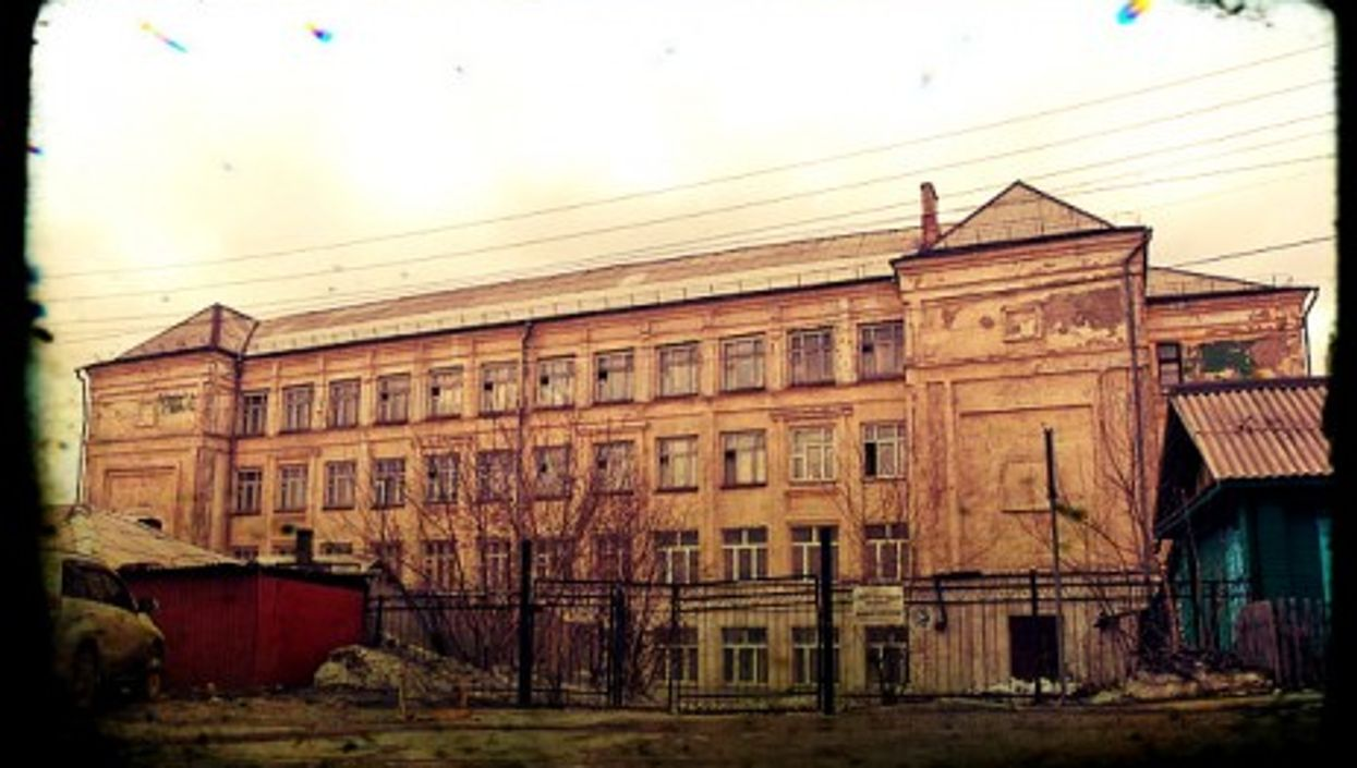 A Russian orphanage
