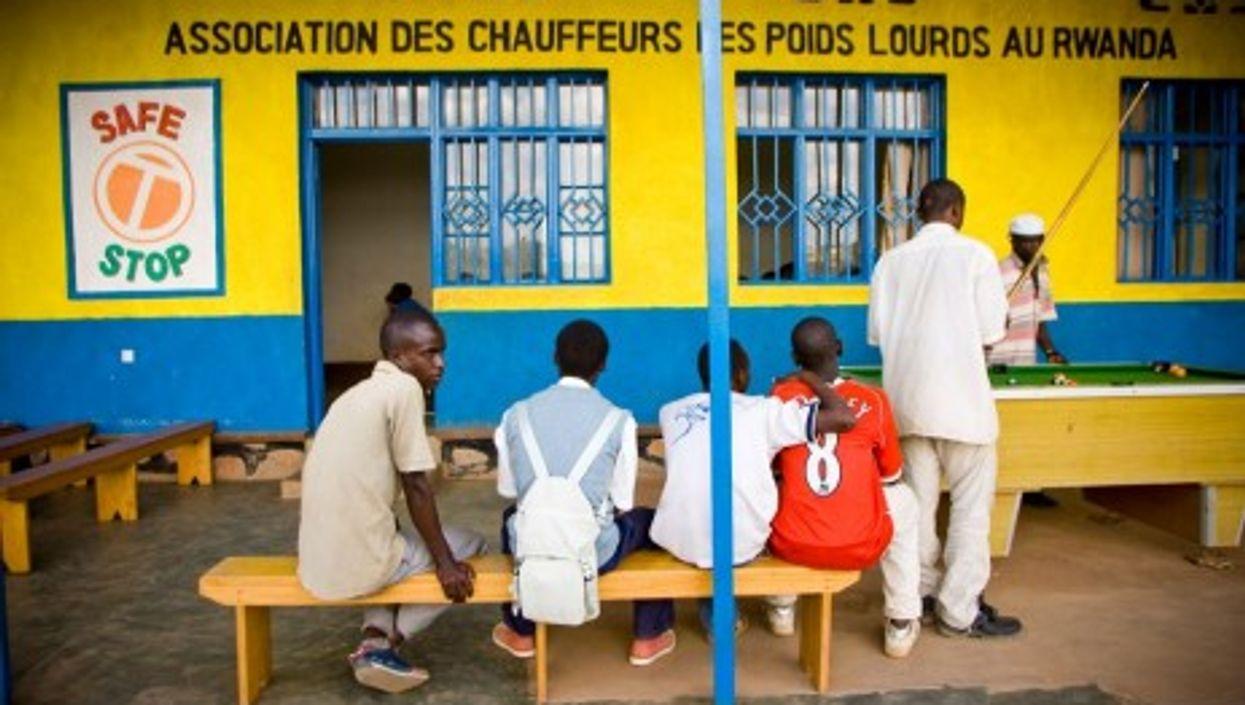 "A ""safe stop"" in Rwanda"