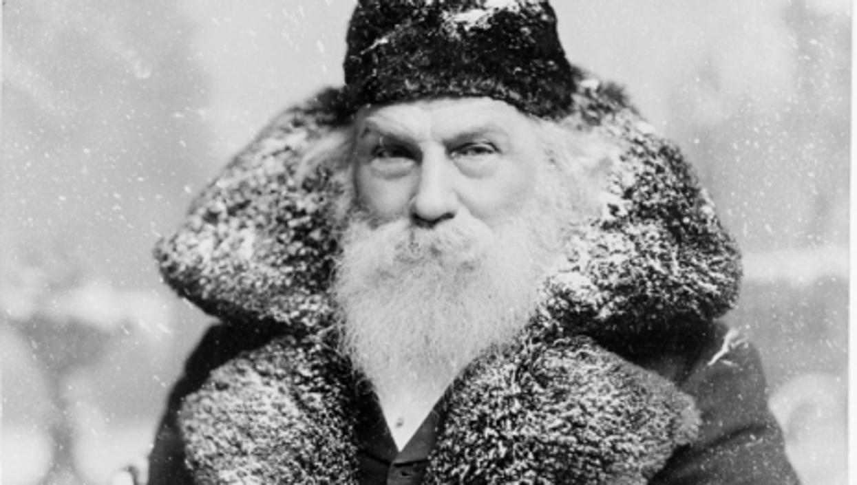 A Santa spotting, circa 1895 (Chuck Coker)