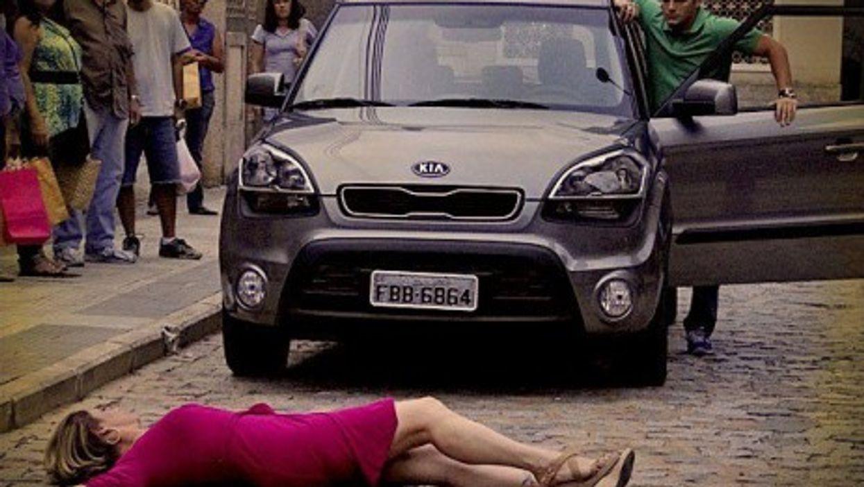 A scene from Avenida Brasil