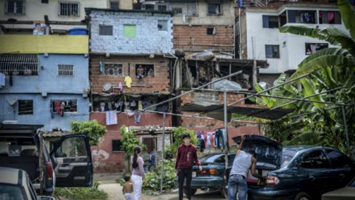 A slum in Caracas, Venezuela — Photo: Charles Mostoller/ZUMA