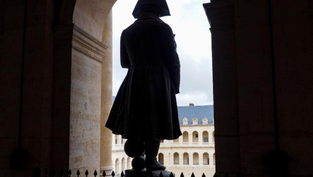 A statue of Napoleon in Paris
