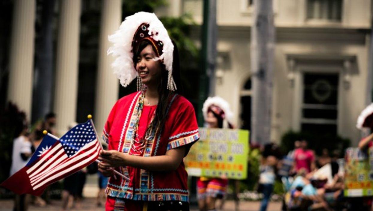 A Taiwanese American parade in Honolulu