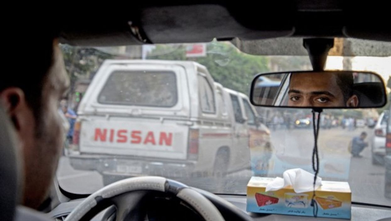 A taxi driver at Cairo