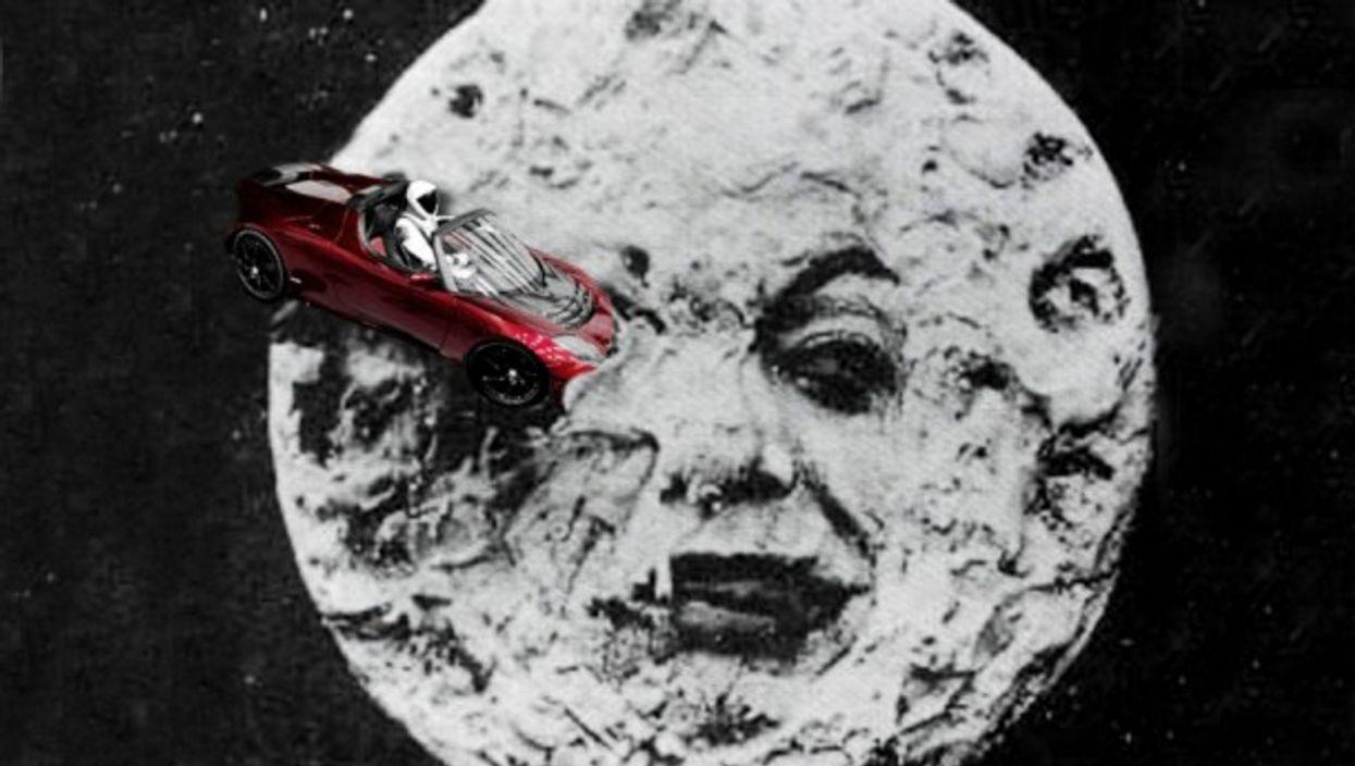 A Tesla Trip To The Moon