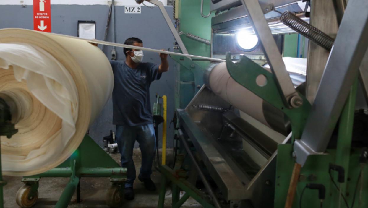A textile factory in Campinas, Brazil