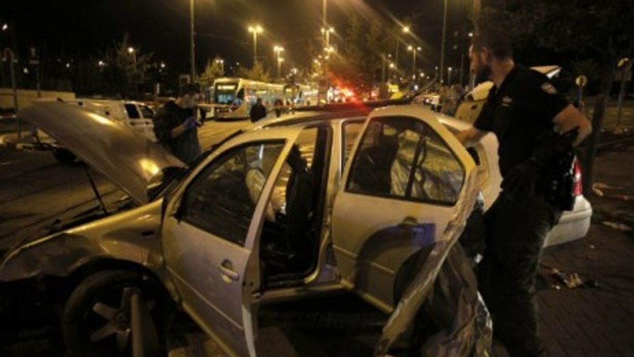 A three-month-old baby was killed in a Jerusalem car crash Wednesday