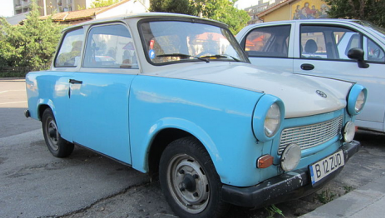 A Trabant 601S in Bucharest