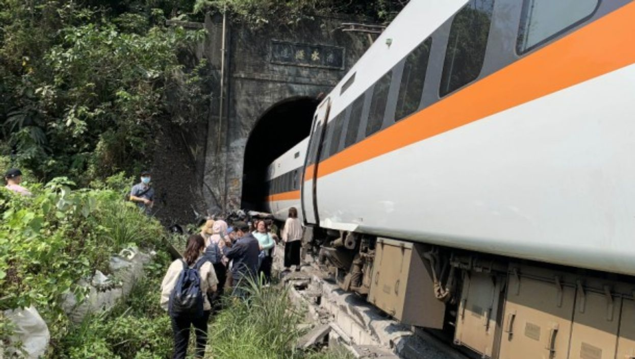 A train crash killed at least 48 people and left 66 injured in eastern Taiwan.