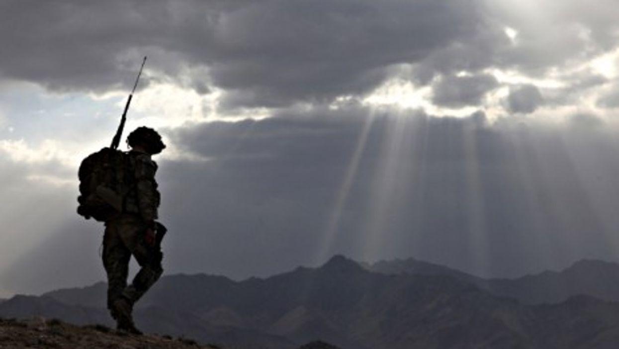 A U.S. Army Spc. in Afghanistan's Logar province, in June 2010.