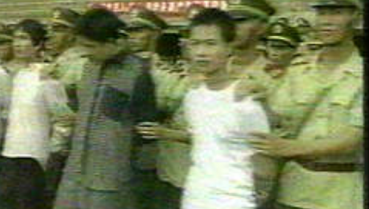 A video image of a multiple execution in China (Duke)