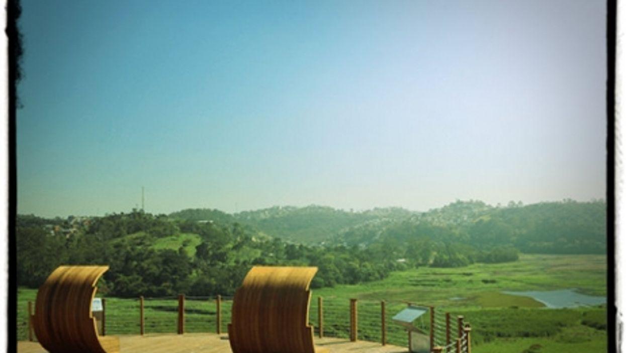 A view from Parque das Cerejeiras
