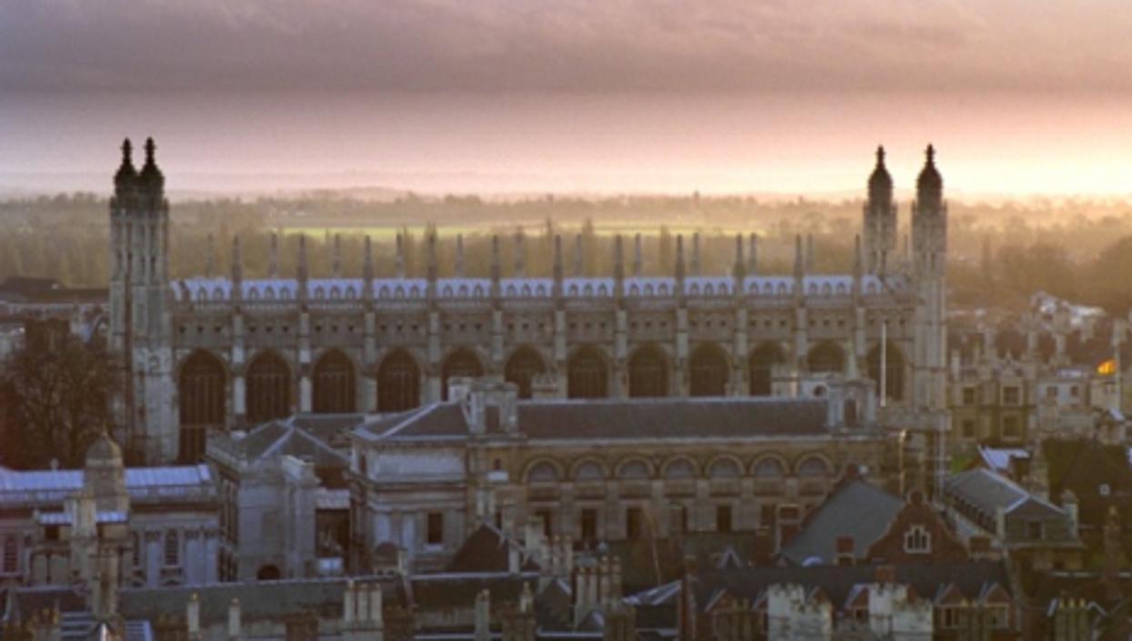A view of Cambridge University (Wikipedia)