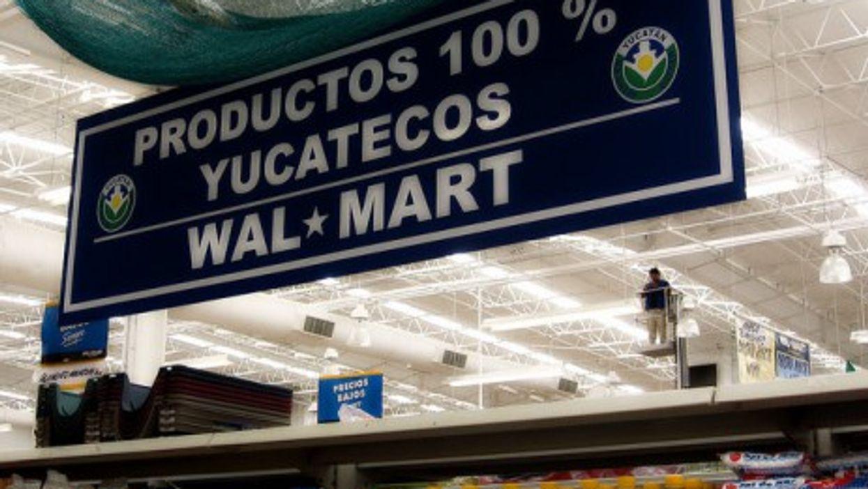A Walmart in Yucatan, Mexico