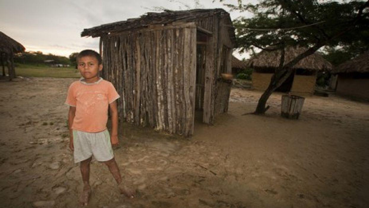 A Wayúu boy