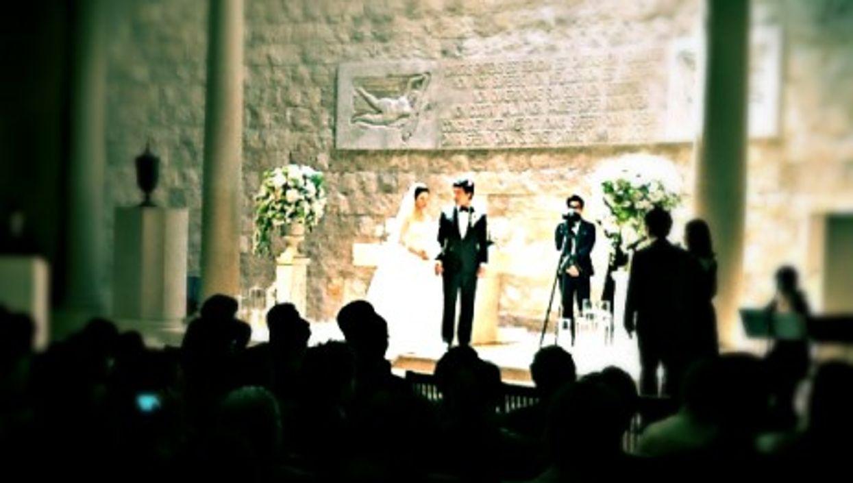 A wedding in Gangnam