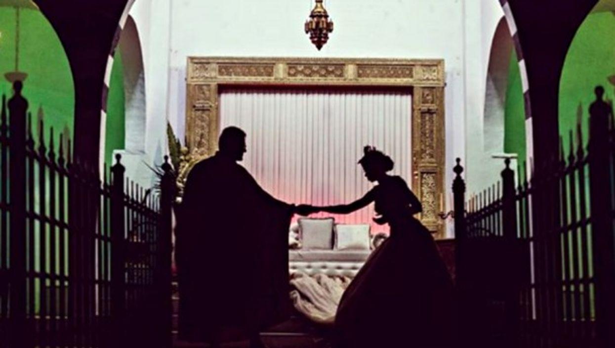 A wedding in Tunis, Tunisia
