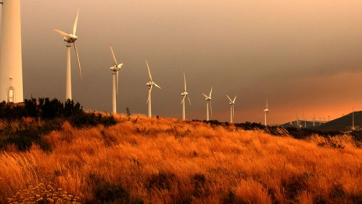A wind park operated by Portugal's EDP, a now partially Chinese-owned power company (EDP/Adelino Oliveira)