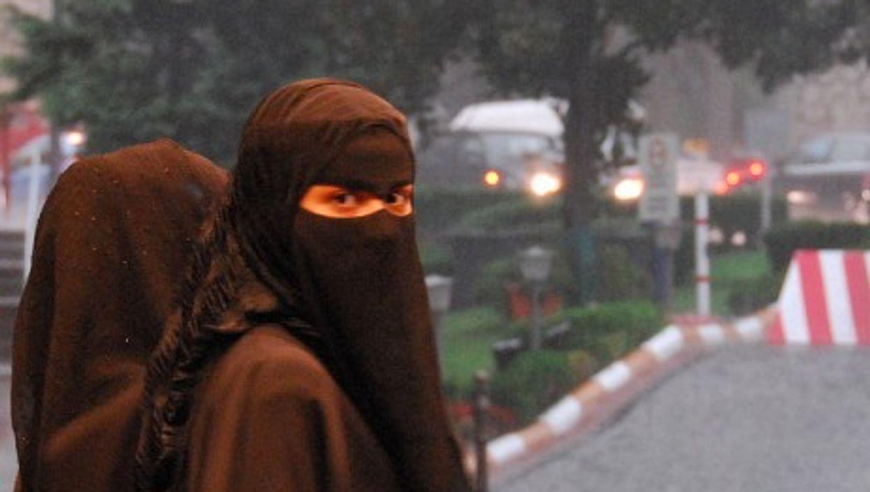 A woman in Saudi Arabia