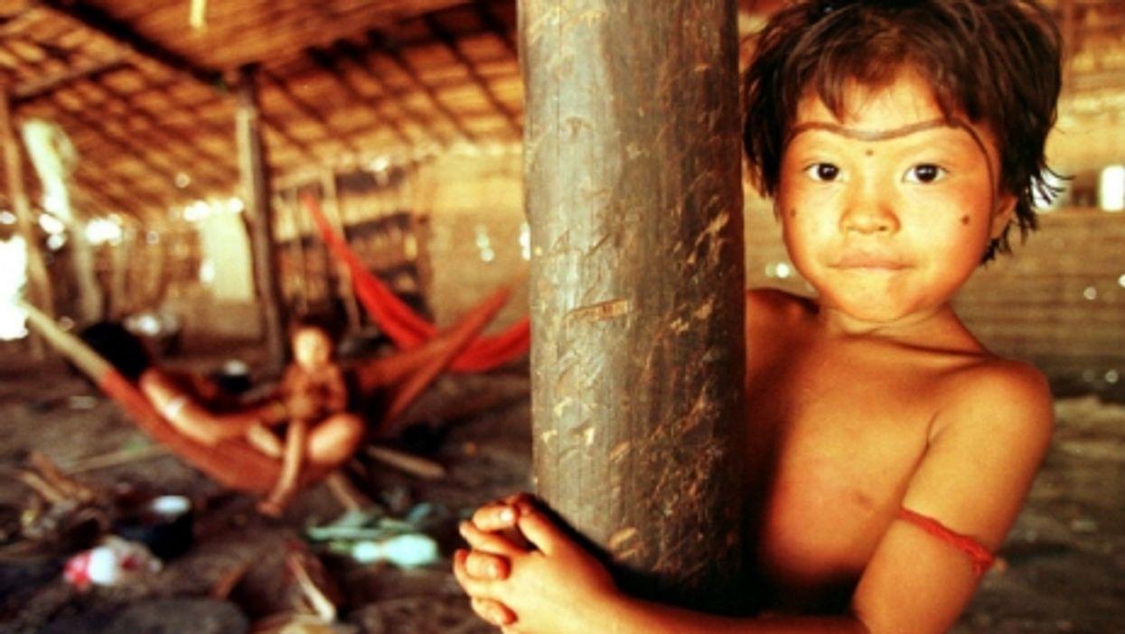 A Yanomami child