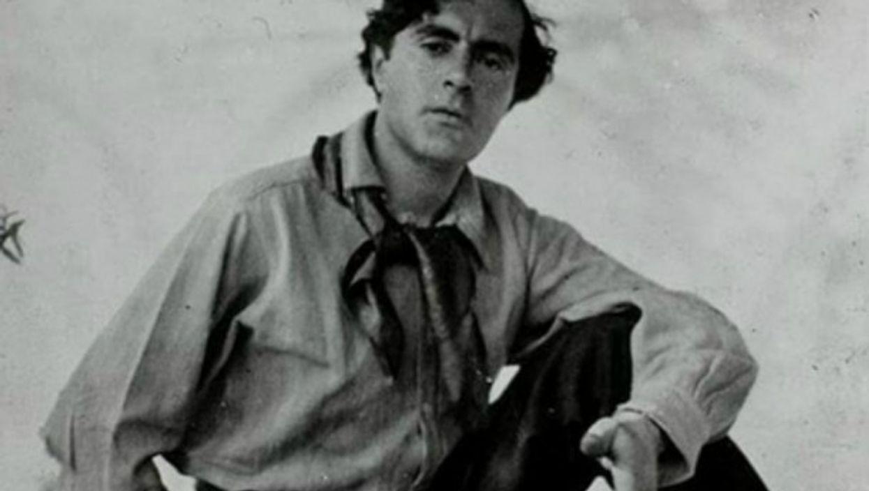 A Young Amedeo Modigliani