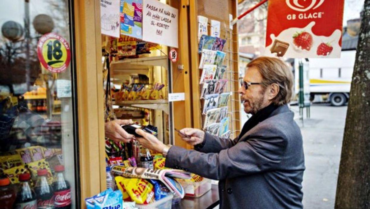 ABBA member Bjorn Ulvaeus spending his money money money
