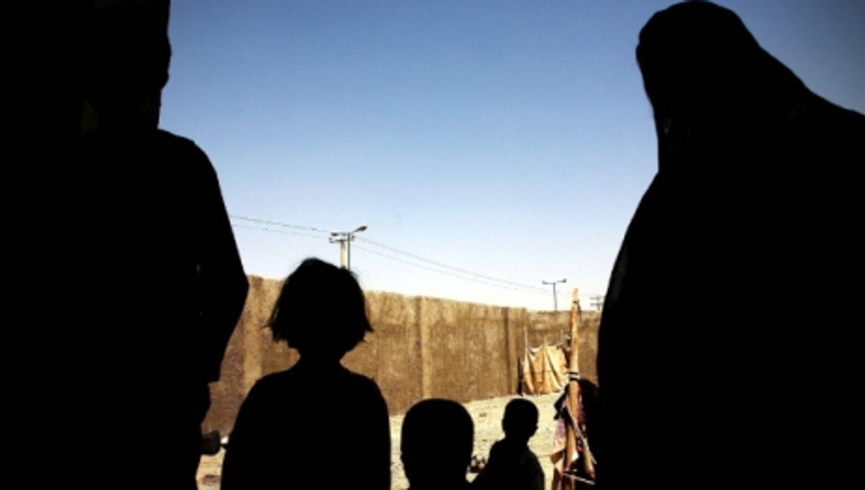 Afghan refugees in Zahedan, in eastern Iran