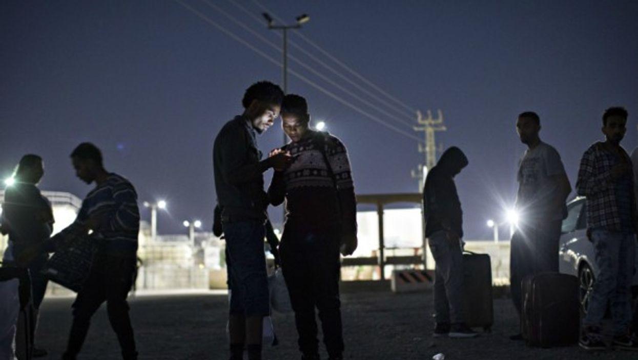 African asylum seekers in Israel's Negev desert