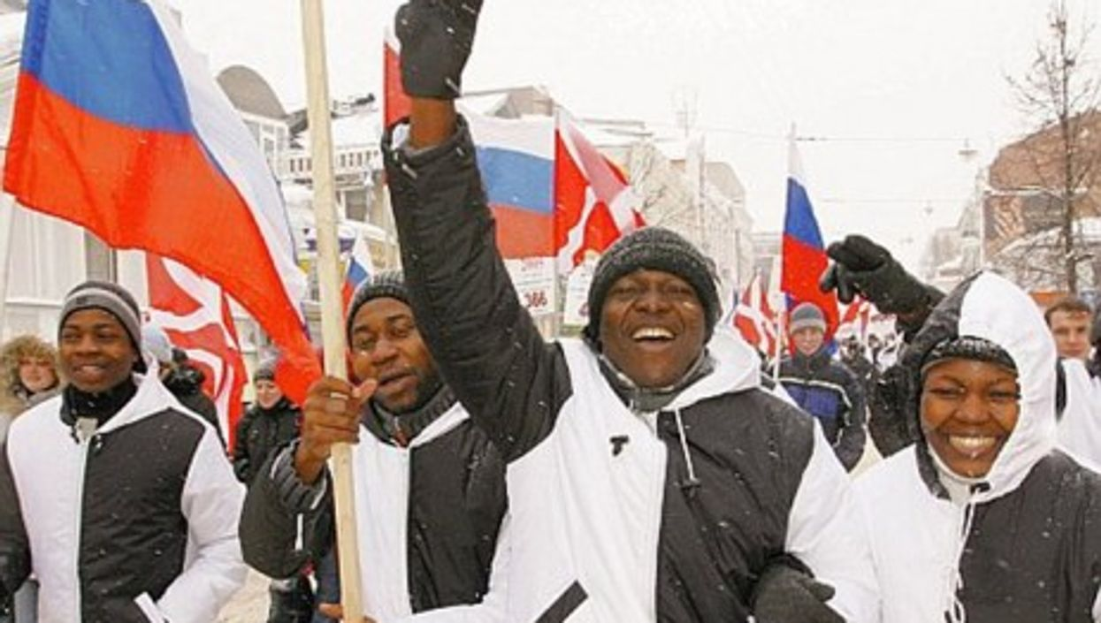 African immigrants in Russia (Facebook)
