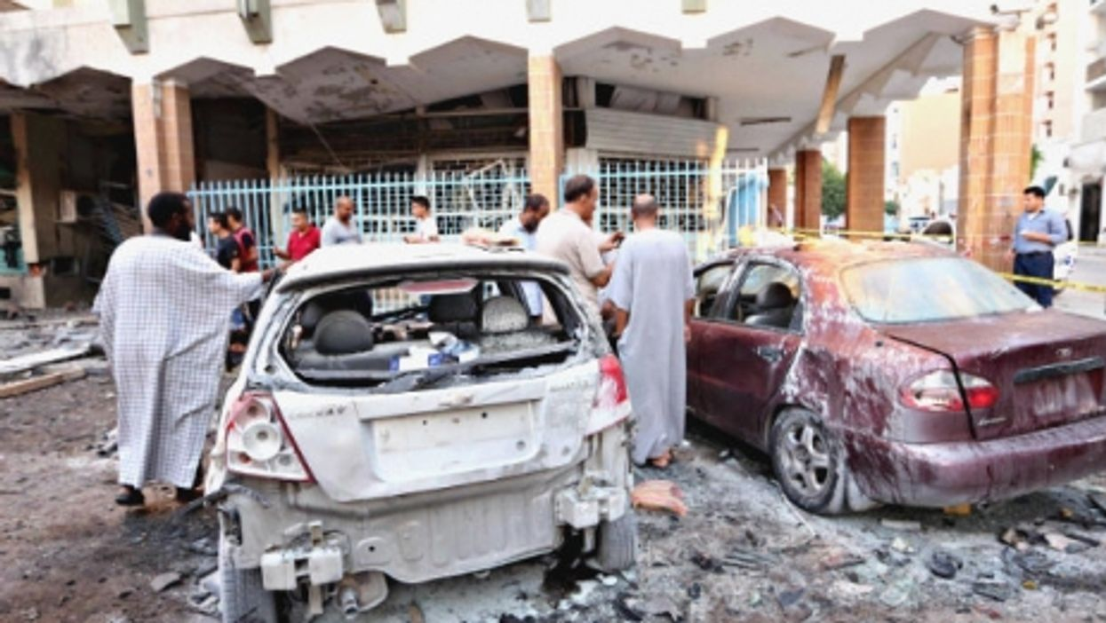 After a car bombing in Tripoli earlier this year