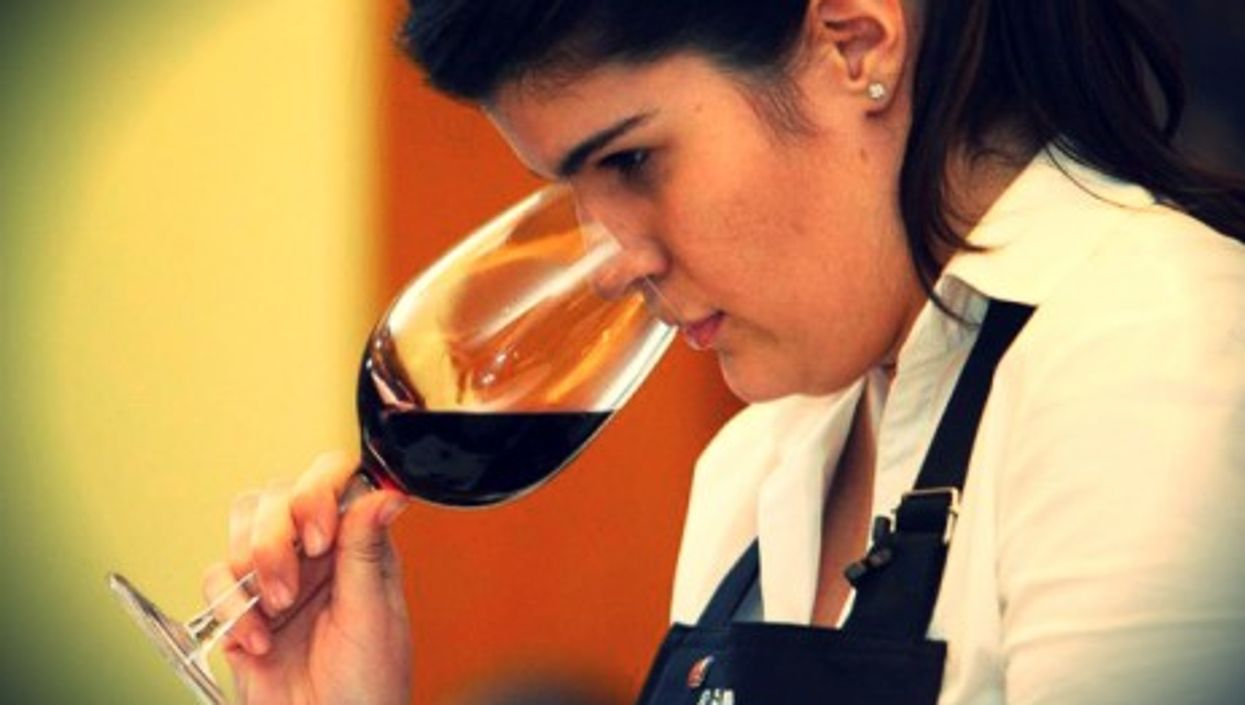 Agustina de Alba was crowned Best Sommelier in Argentina twice already