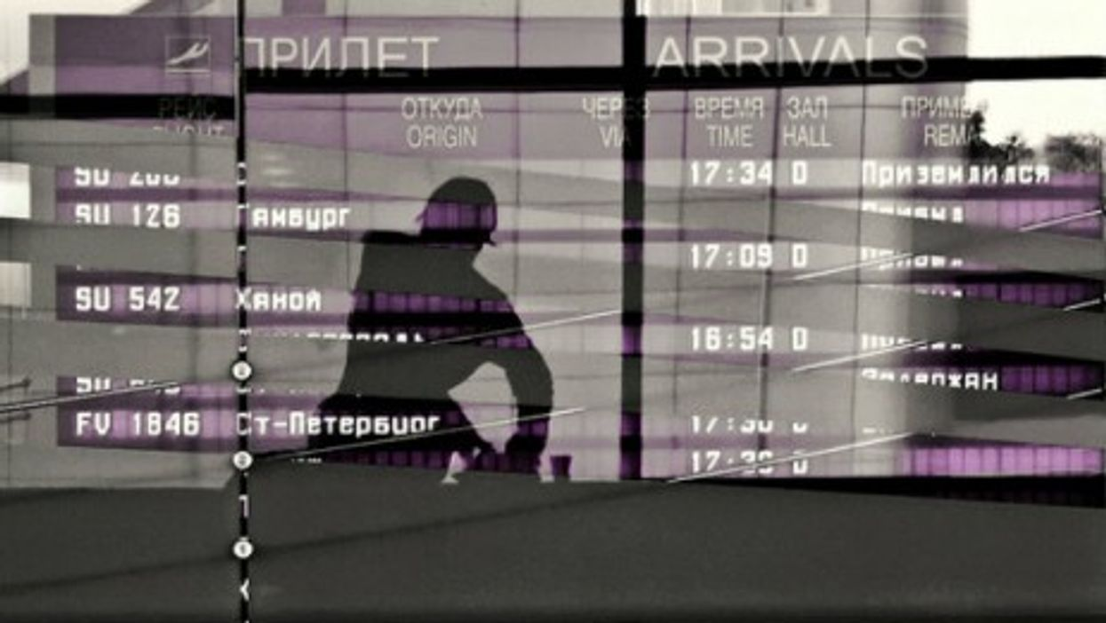 Airport in Moscow