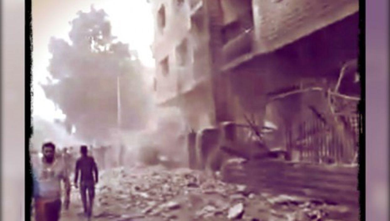 Al-Mouadamiyah, under siege