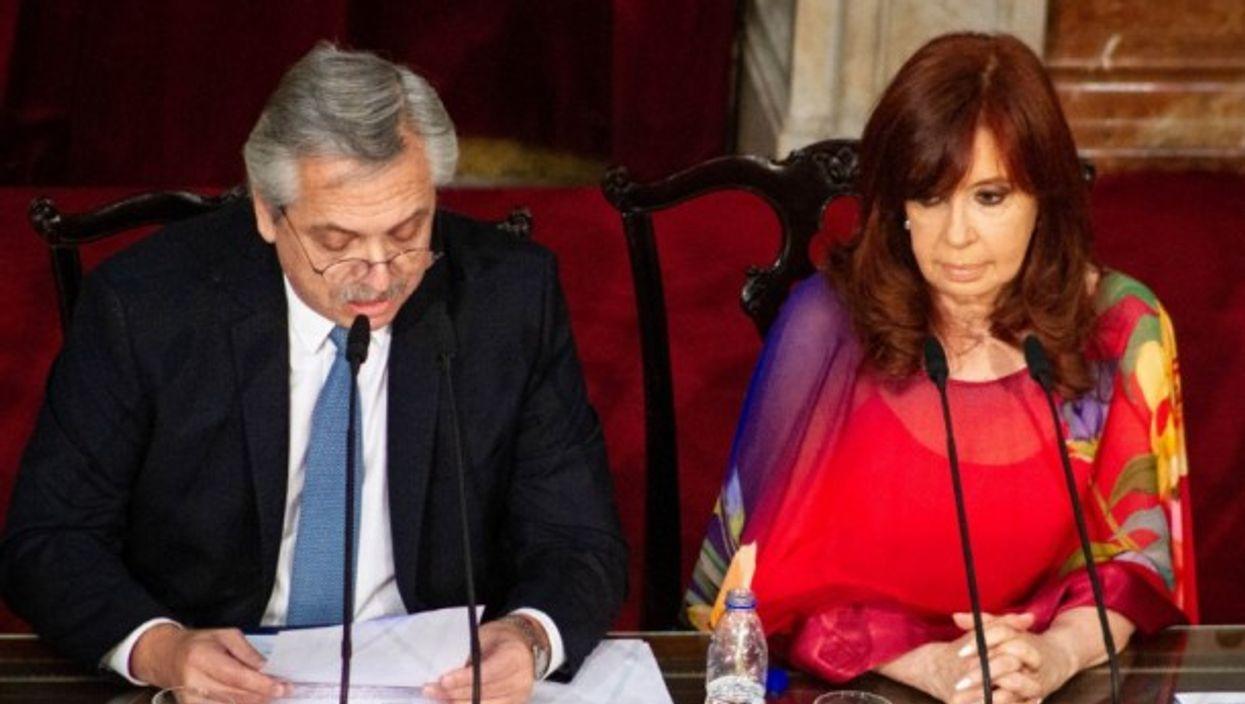 Alberto Fernandez and Cristina Fernandez de Kirchner