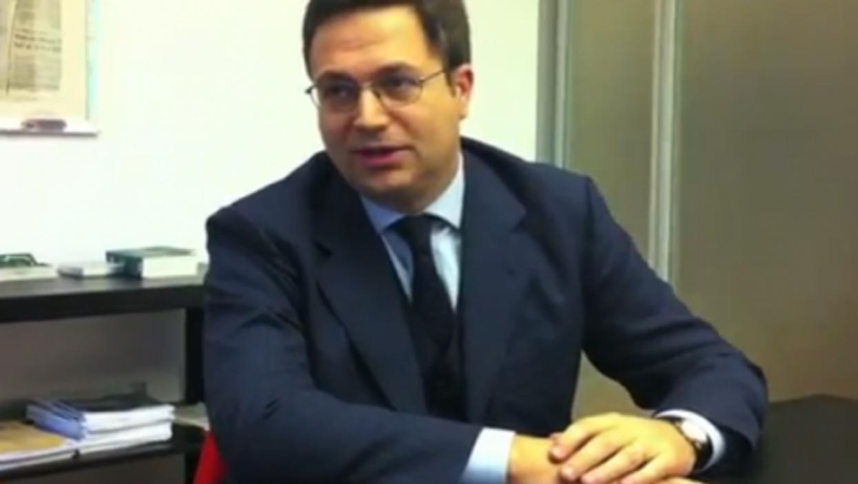 Alberto Musy last November (retroonline)