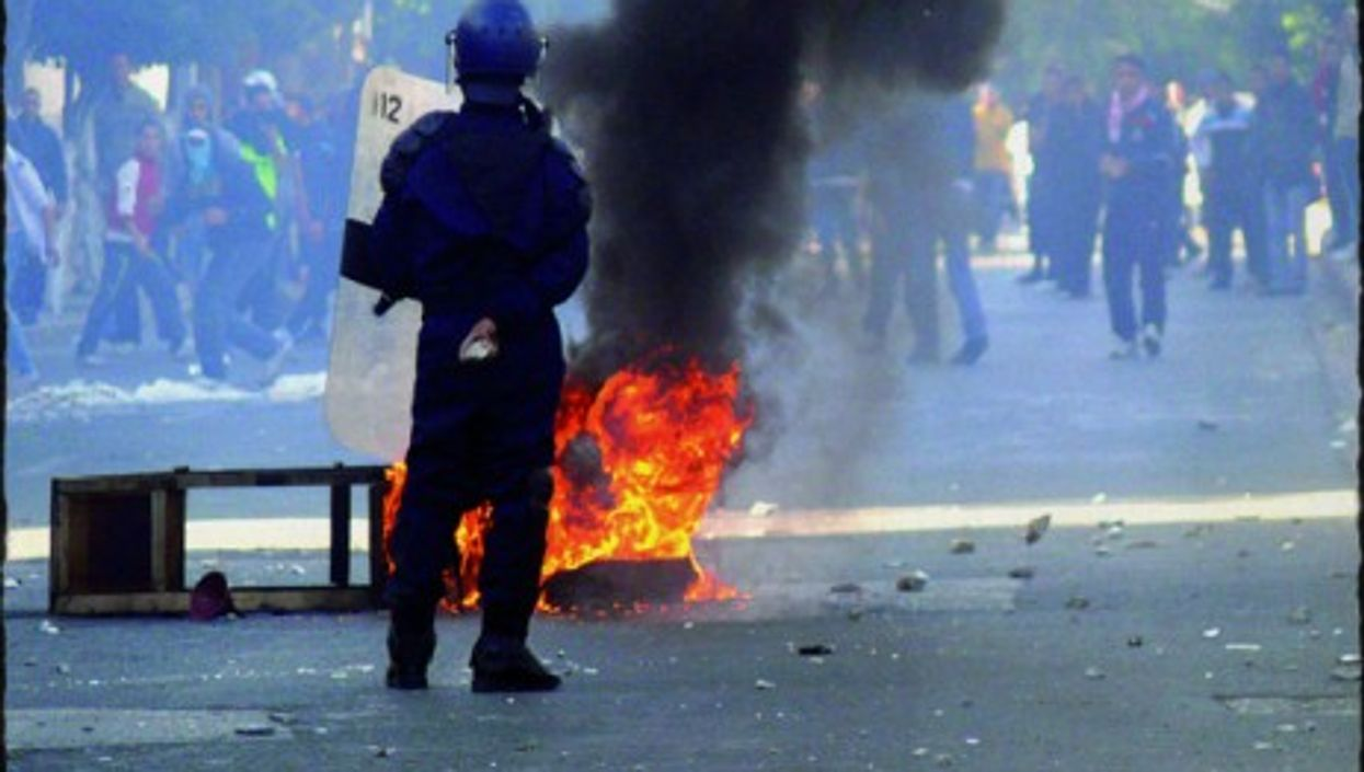 Algerian riots two years ago over high unemployment and food prices