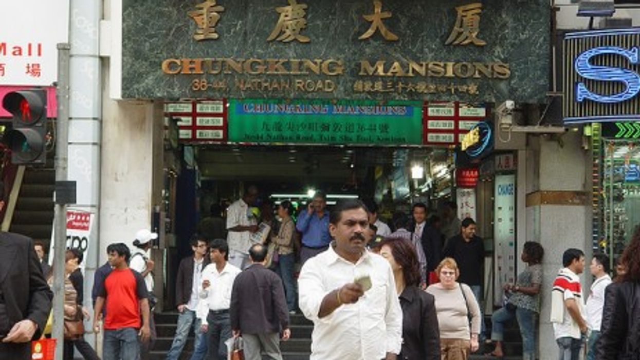 All the world comes to Chungking (Cheung Fun)