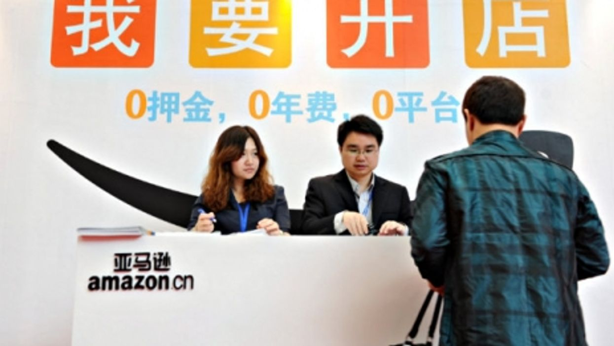 Amazon is booming in China