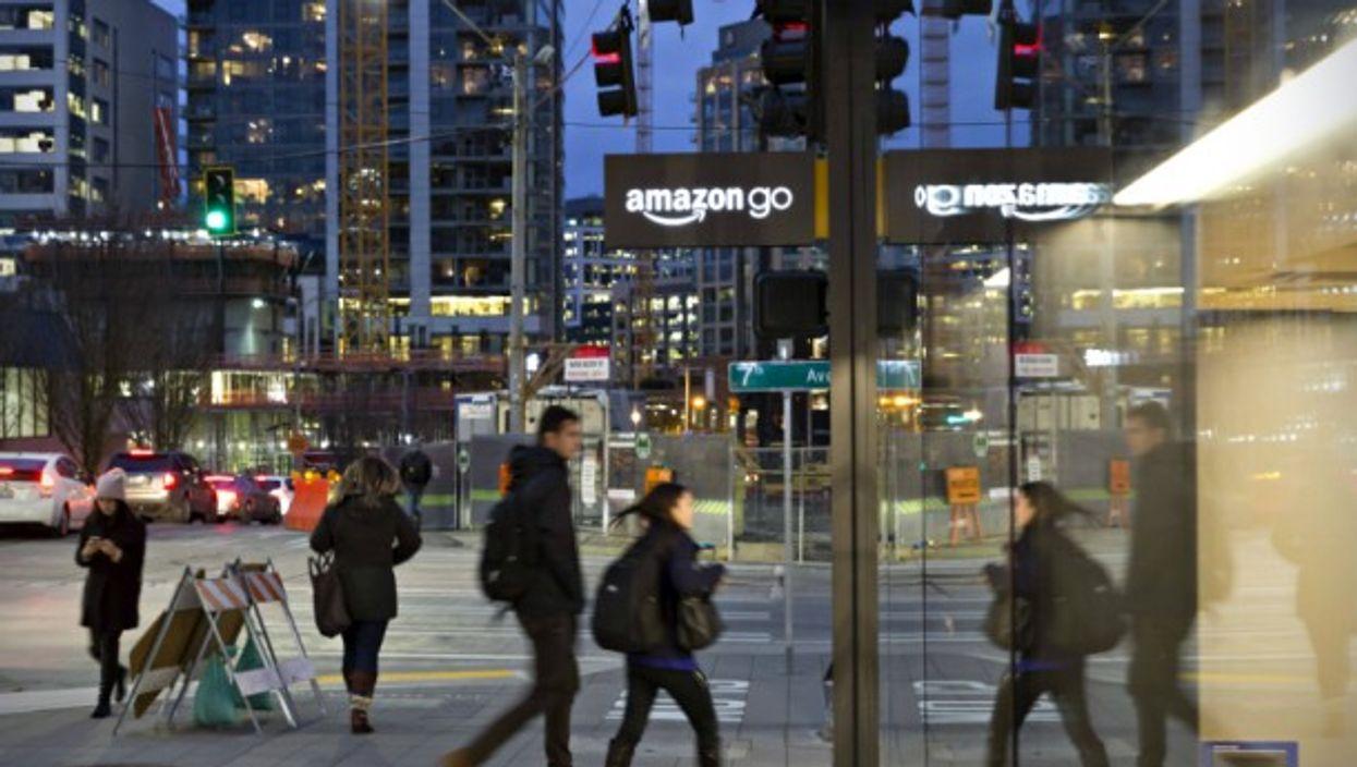 Amazon store in Seattle