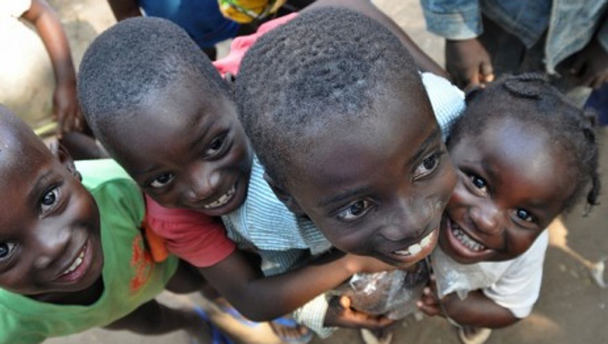 Among the many children displaced by Ivory Coast fighting