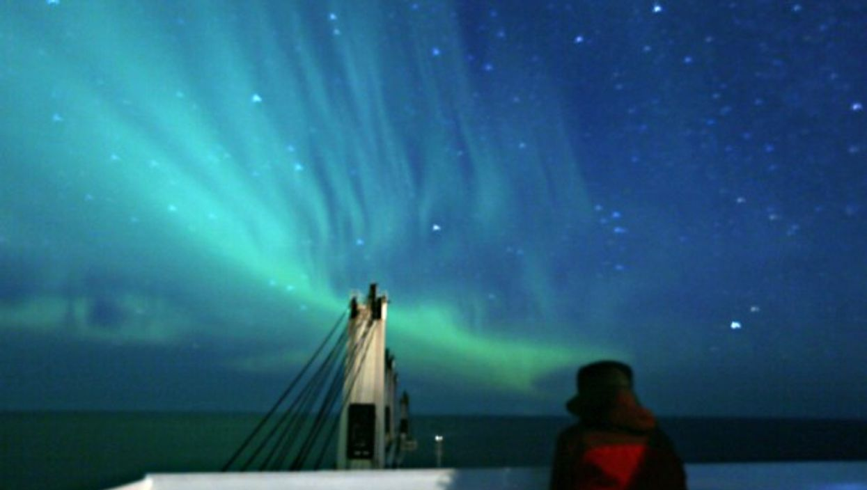 An Arctic view of the Northern Lights