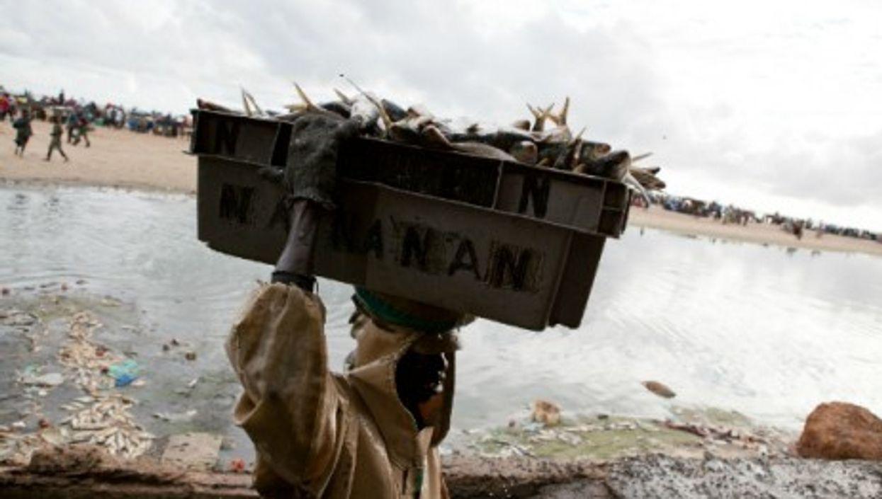 An artisanal fisherman in Joal, Senegal