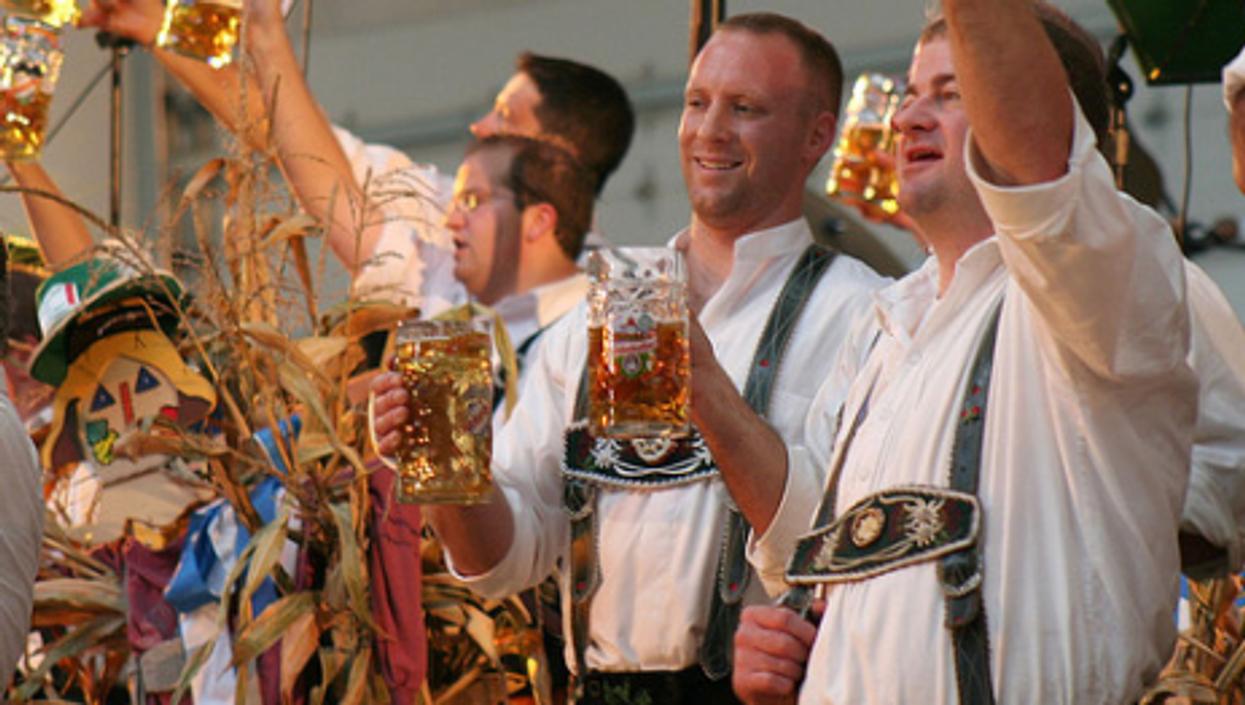 An authentic Bavarian Oktoberfest ... in Michigan (wolfworld)