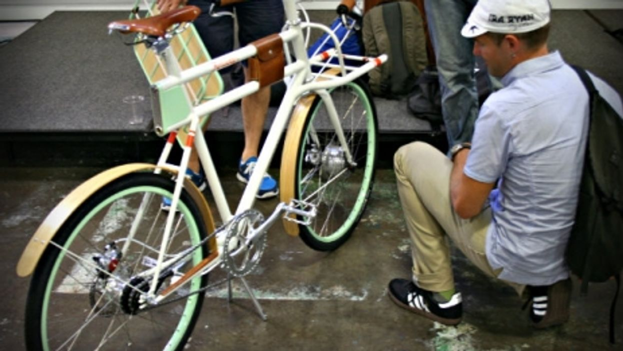 An Ideo e-bike