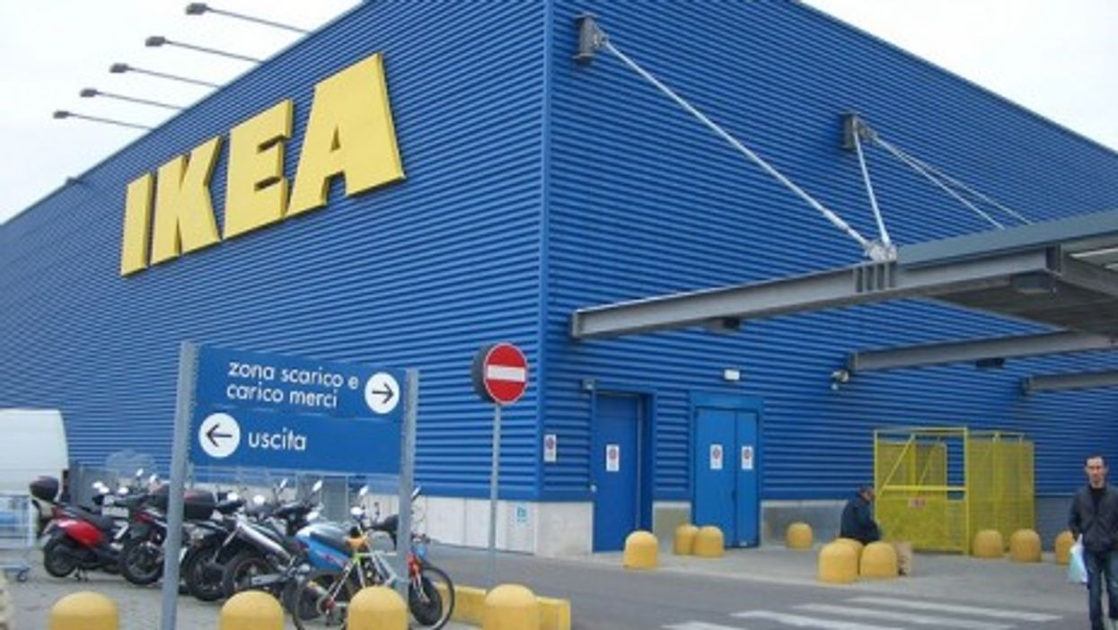 An Ikea outlet in Florence, Italy