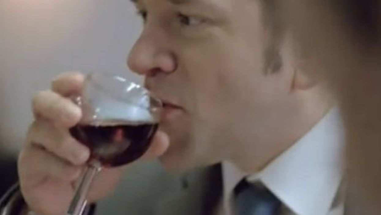 An image from the new spot warning against drinking too much. (French Health Ministry)