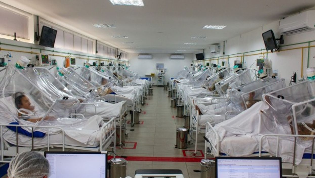 An intensive care unit in Manaus, Brazil