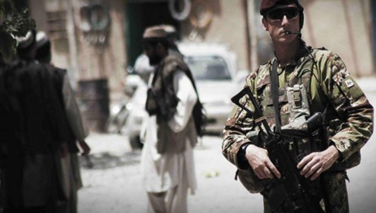 An Italian Para in Qala-I-Kuna, Afghanistan
