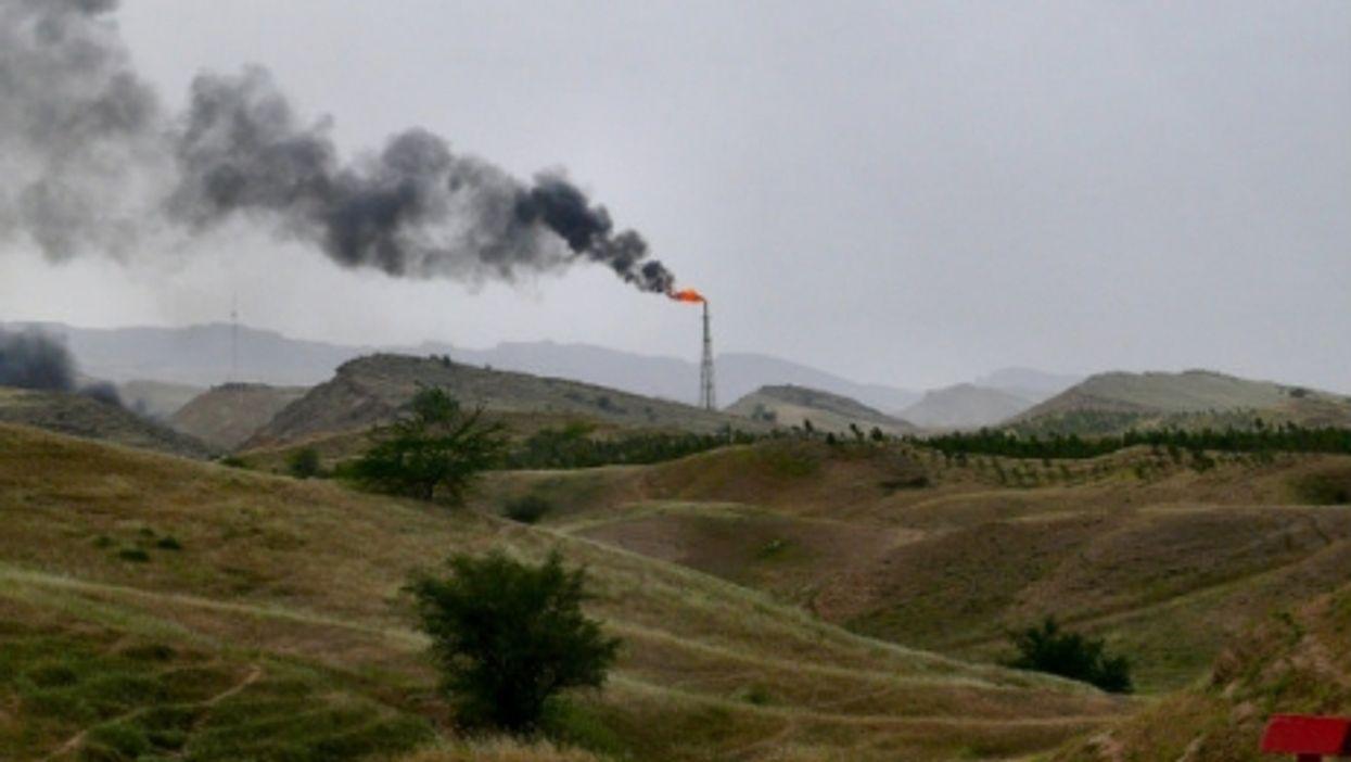 An oil field outside of Ahwaz
